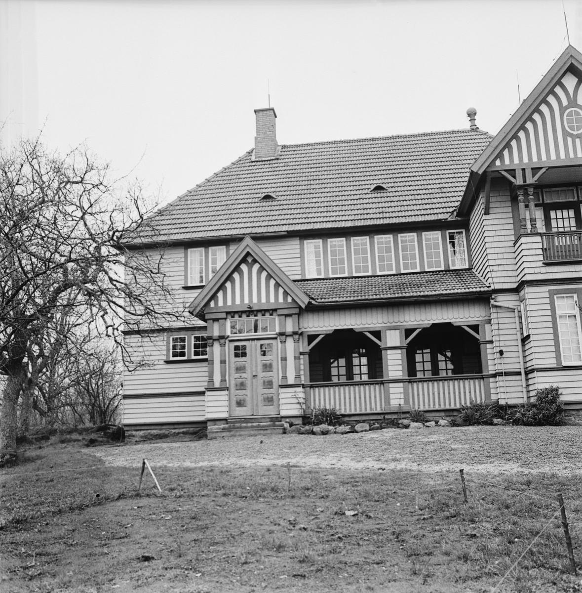 Övrigt: Foto datum: 17/5 1965 Byggnader och kranar KFUM:S sommarhem på hästö