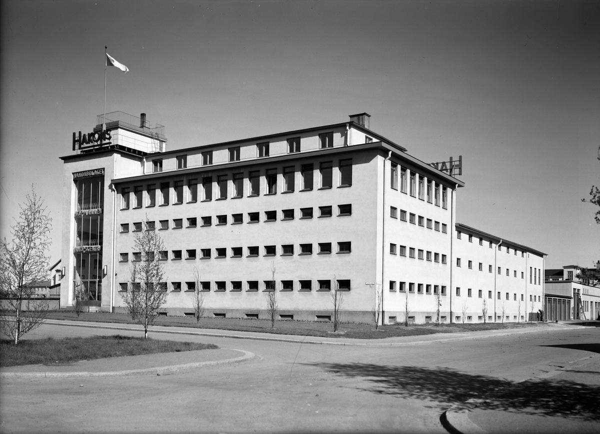 Hakonbolaget, S:t Olofsgatan - Väderkvarnsgatan, Kvarngärdet, Uppsala  1946
