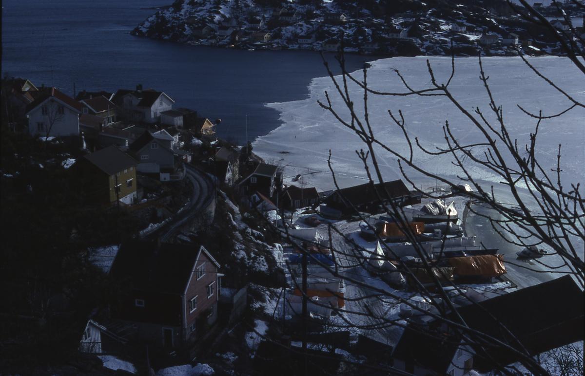 Tallakshavn sett fra Utsikten. Kragerø