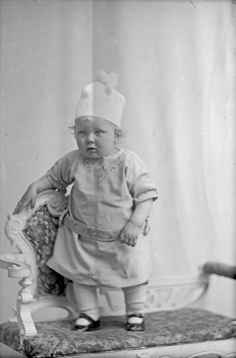 Portrett: Stevnevidne Pedersens gutt