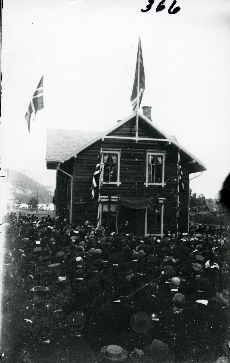 Åpning av Valdresbanen i 1906