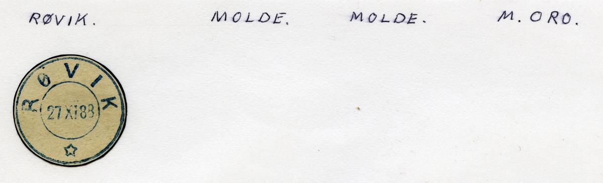 Røvik, Molde, Møre og Romsdal