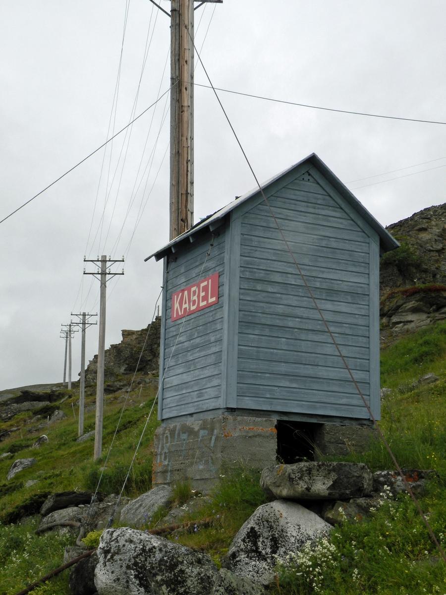 Kabelhuset på Alnes ble restaurert på slutten av 1990-tallet.