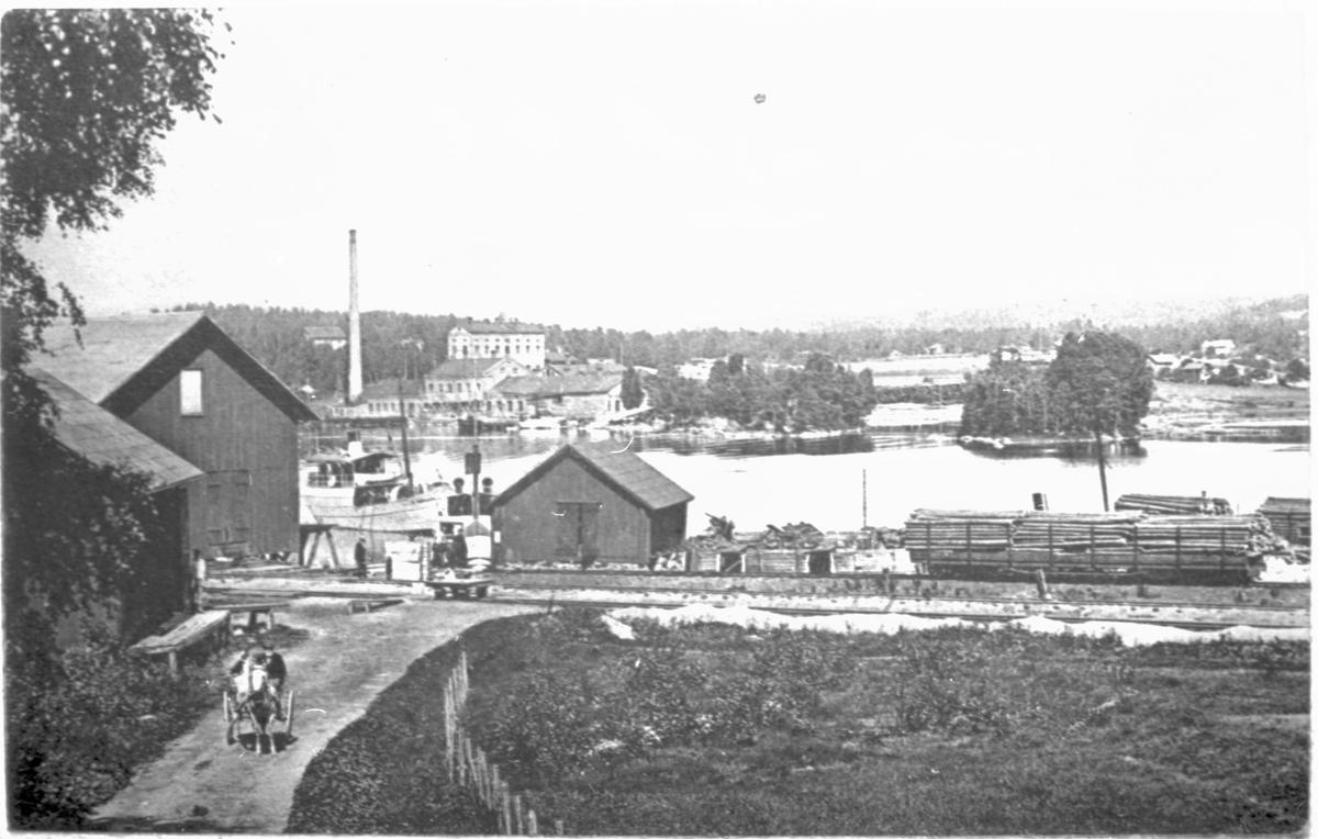 Utsikt över Bengtsfors