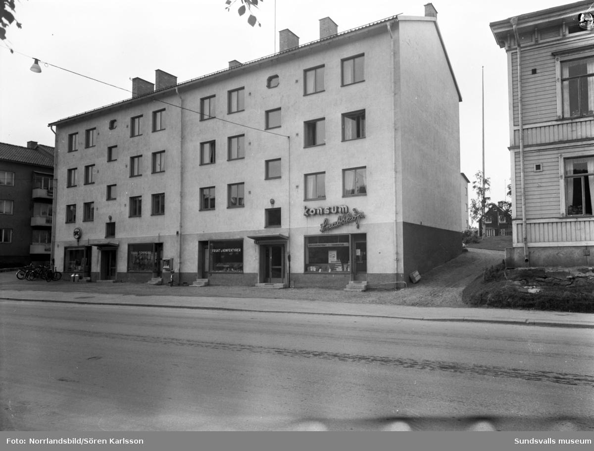 Konsumbutik på Storgatan 63.