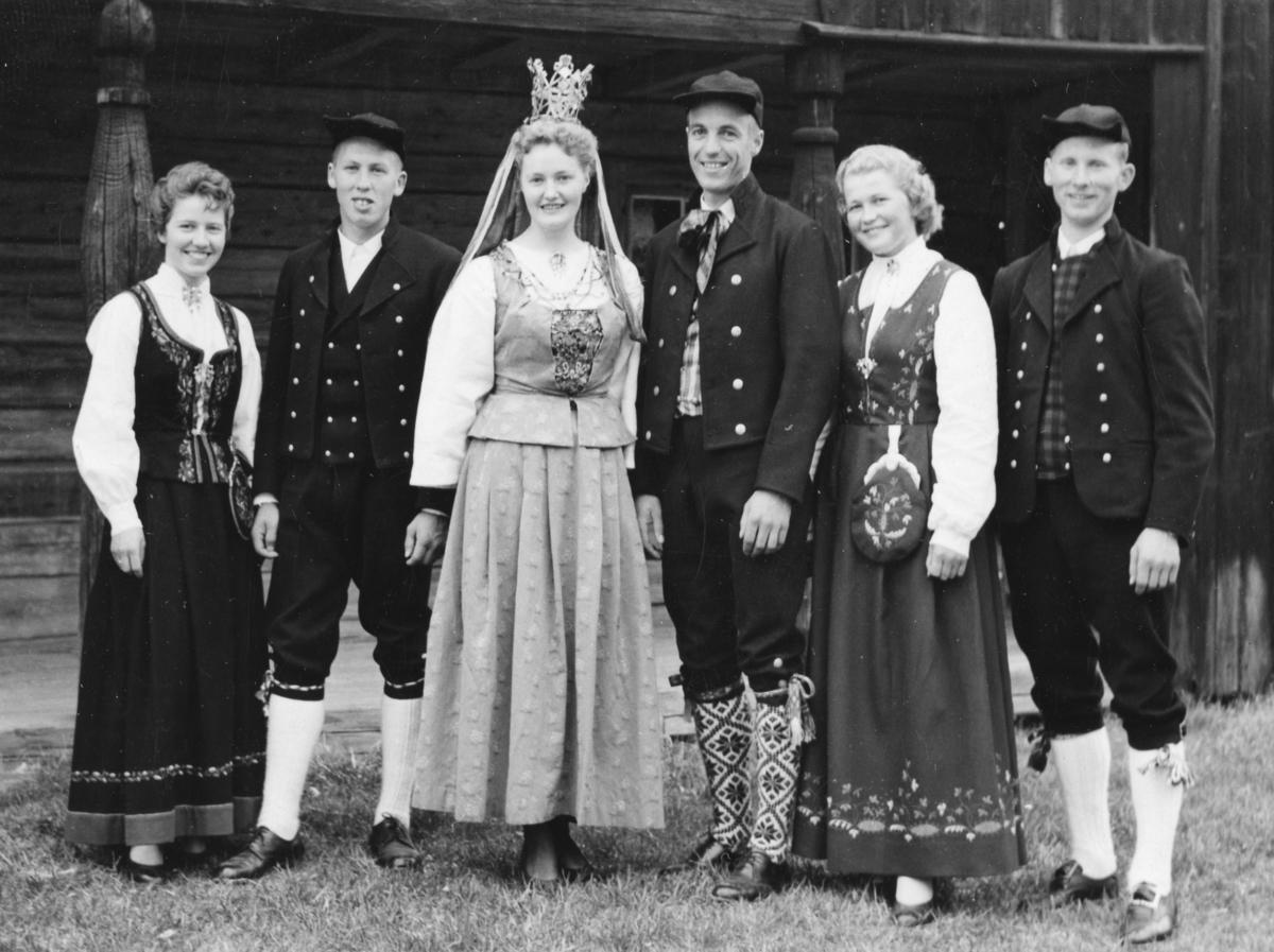 Utflytterdagen,Glomdalsbruden 1958