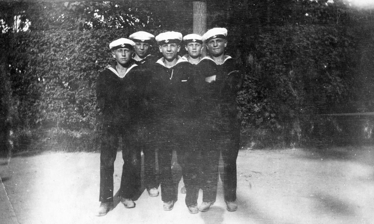 Svenska skeppsgossar i Helsingör.