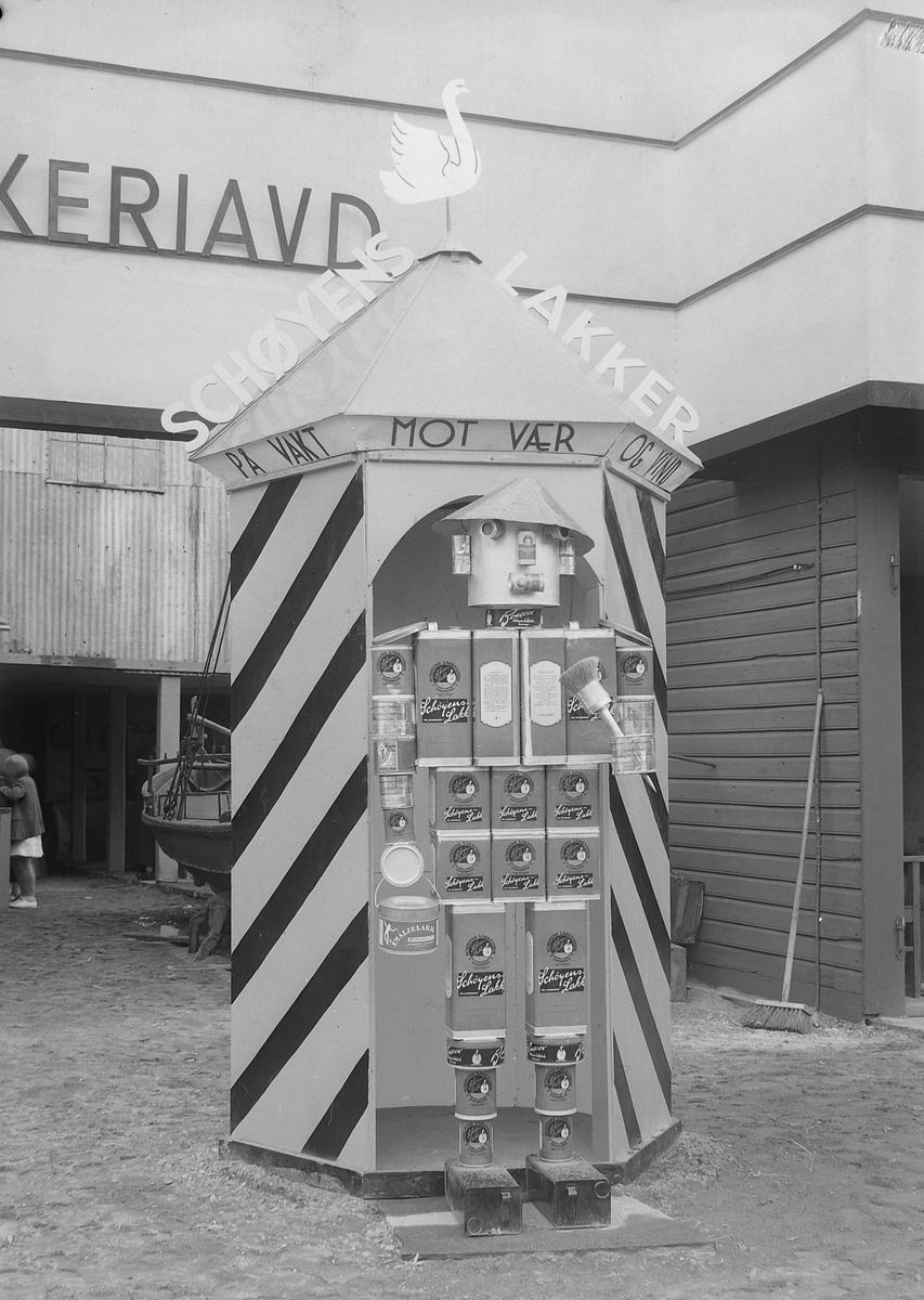 Jubileumsutstillingen i Levanger 1936 - Schøyens Lakkfabrik, Stavanger