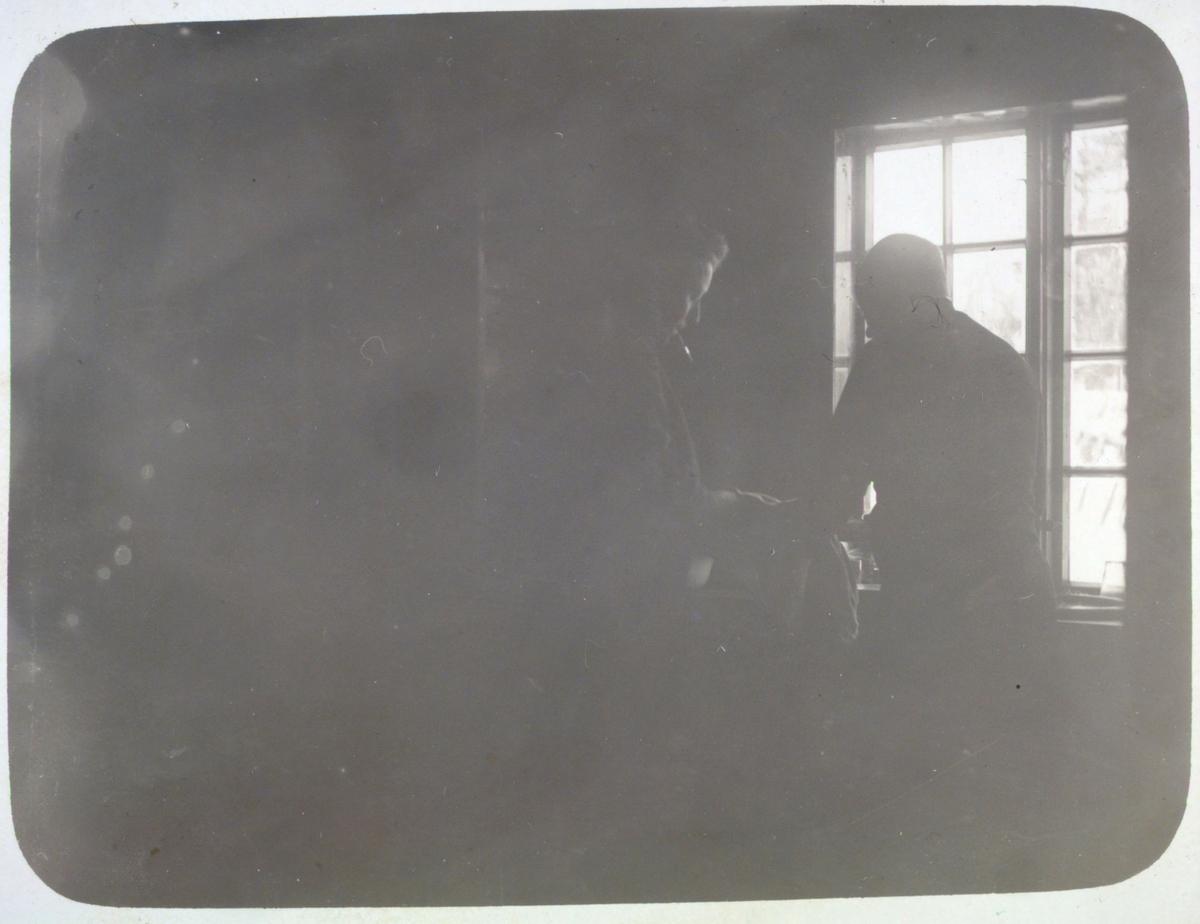 Lærer Jevningens villa ved Männika 1915.