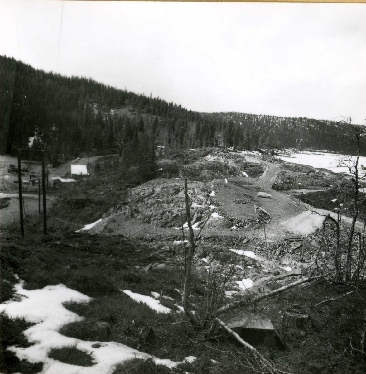 Inntak og dam. Våmar vatn + Kåsvatn  (21)