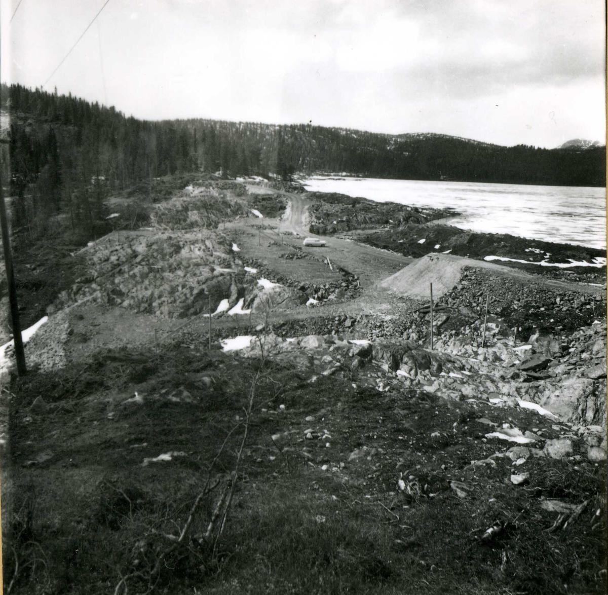 Inntak og dam. Våmar vatn + Kåsvatn  (23)
