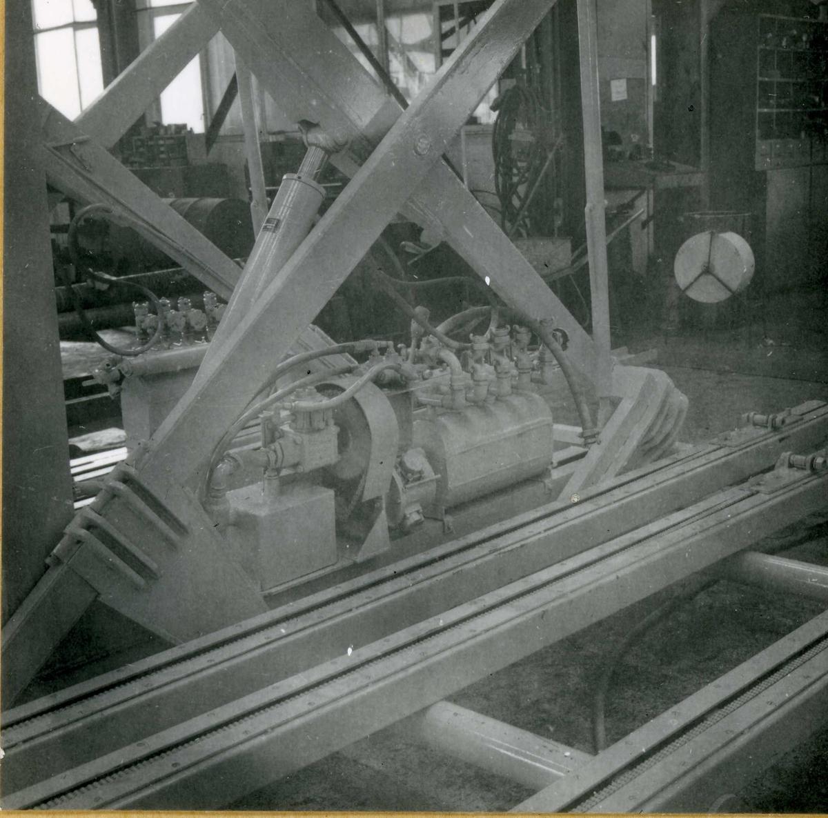 Dalen-lageret 20, maskiner
