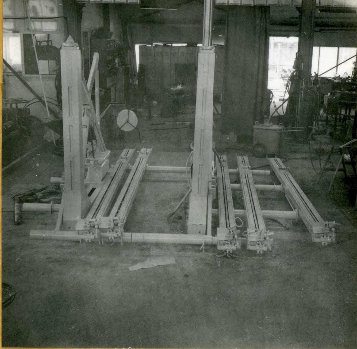 Dalen-lageret 21, maskiner