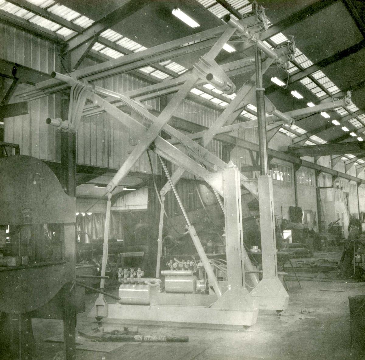 Dalen-lageret 22, maskiner