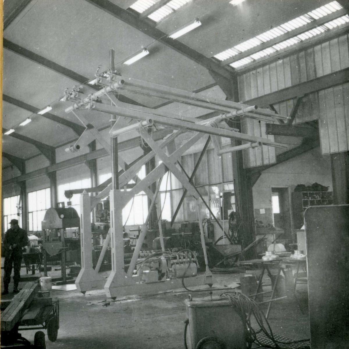 Dalen-lageret 24, maskiner