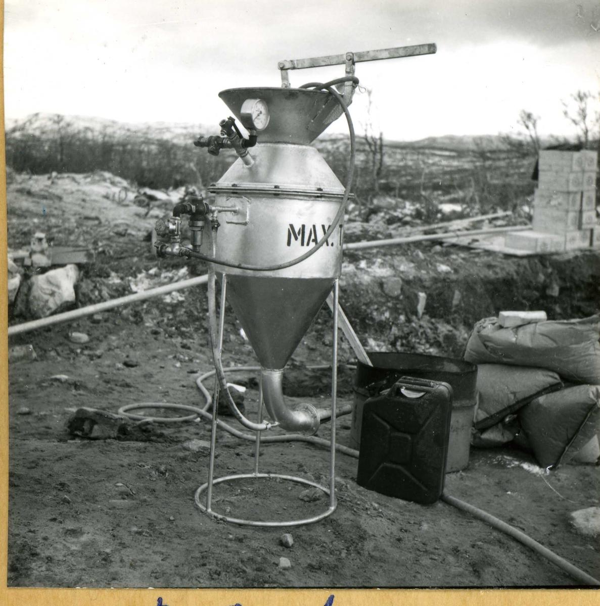 Songa 136, høsten 1959