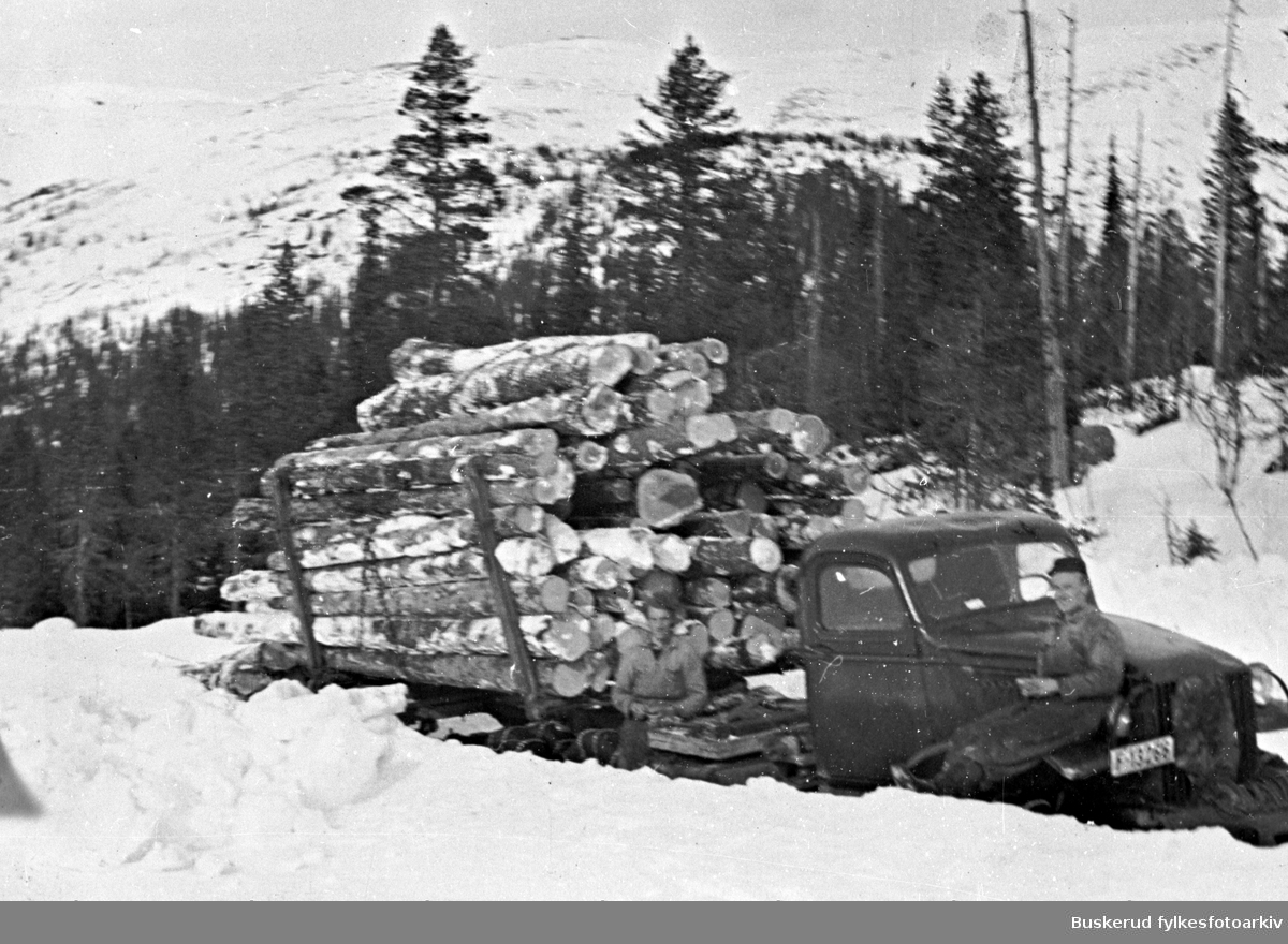 Transport fra Ivantjern til Gulsvik av Kjos & Klev Sokna