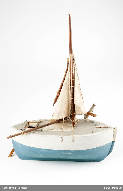 Moderne losbåttype fra Larvik 1880 årene