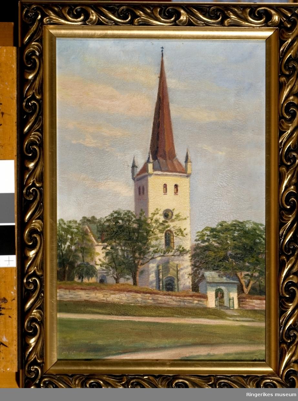 Et bilde av Norderhov kirke