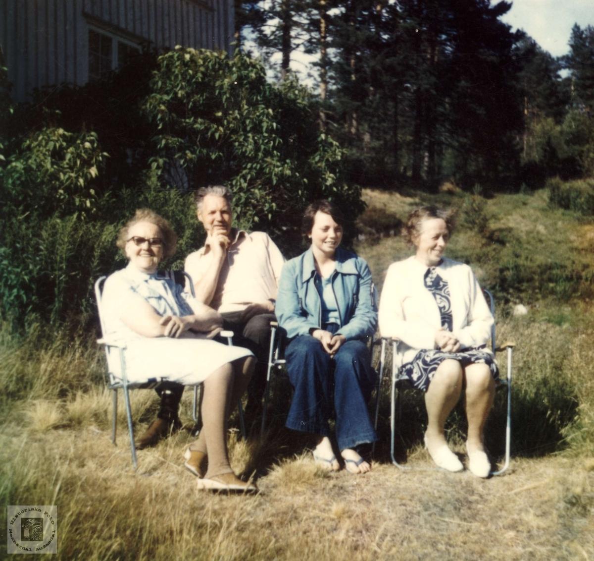 Maria Røynesdal er glad i besøk
