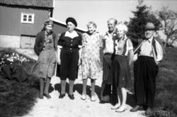 Søndagsbesøk hos Berthine og Ingebjørg Abelset