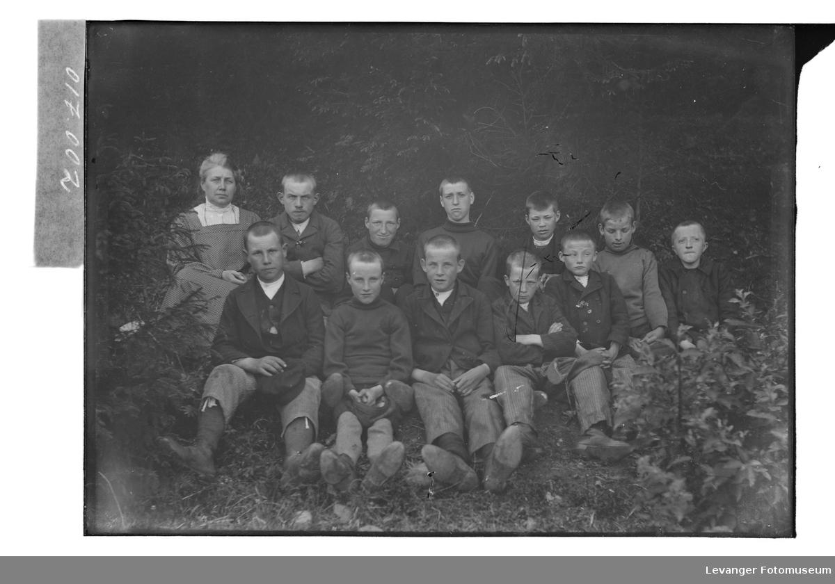 Elever fra Røstad skole.