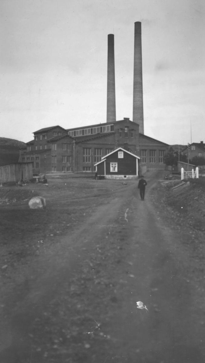 Dampsentralen i Kirkenes.