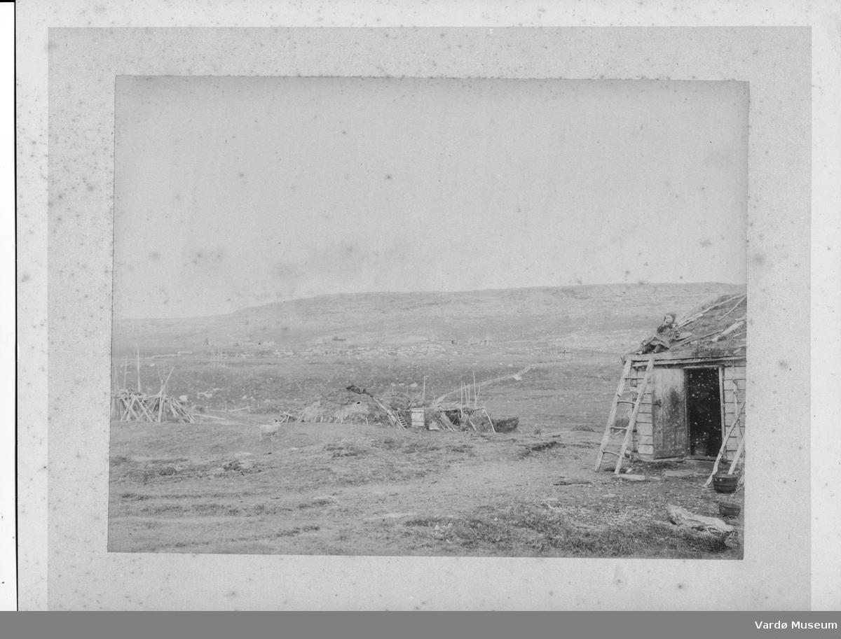 Norvège Fjord à identifier Vintage print, Philippon, Versailles. Tiragi albumi.