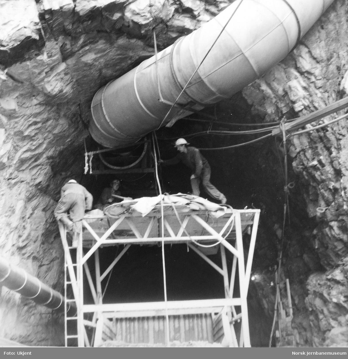 Anlegget av Ulriken tunnel - boring