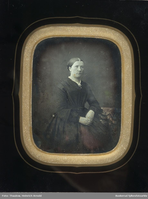 Daguerreotypi Kvinneportrett 12.5x 15,5 cm