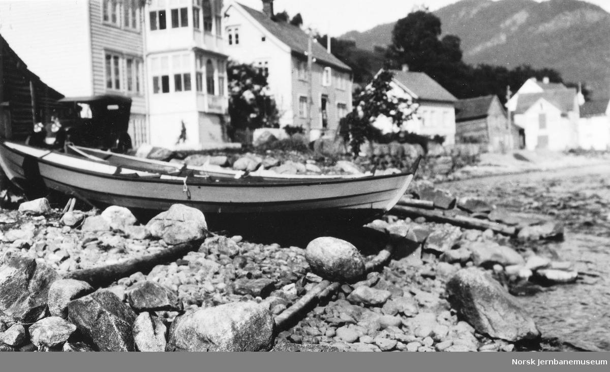 Båtopplag ved Eide