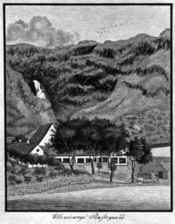 Orkanen som raserte Ullensvang prestegård 25. desember 1806