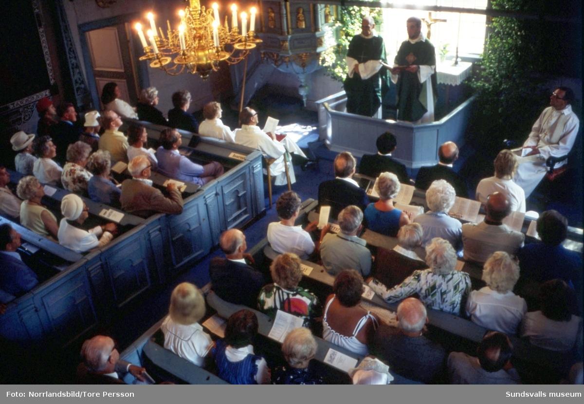 Galtströms kapell firar 300 år.