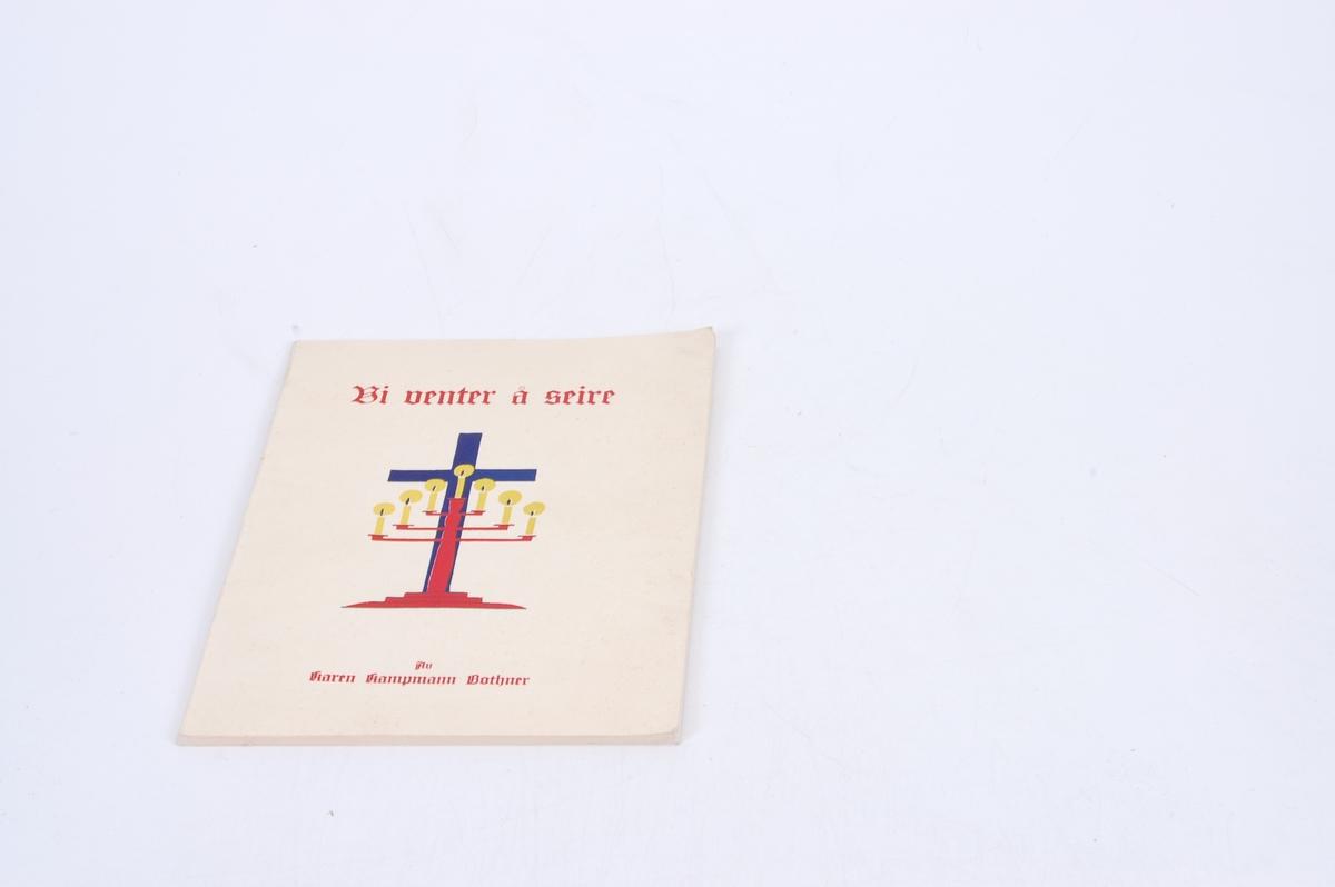 kors og sjuarmet lysestake