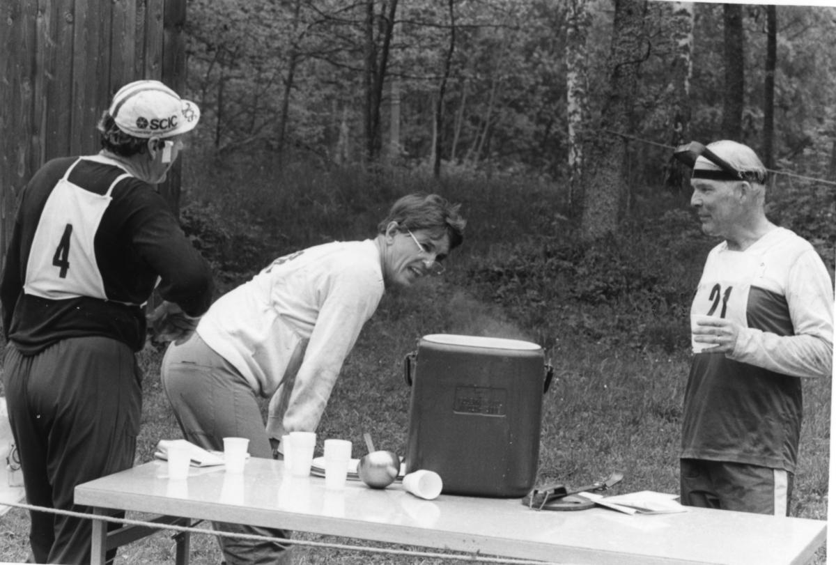Friluftsdag, A 6. Sten Käll, Lars Carlson, Christopher Lilliecreutz.