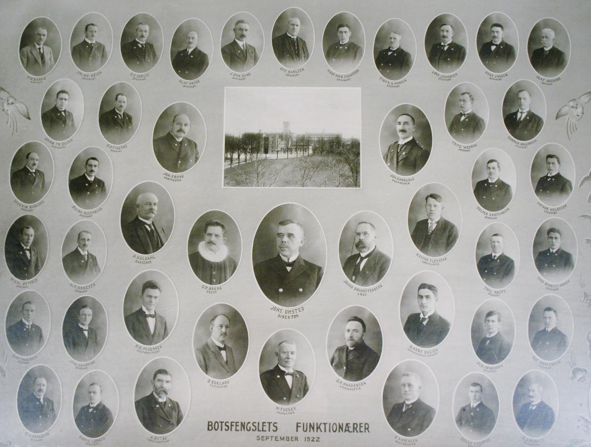 Botsfengslets Funktionærer September 1922