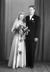 Brudebilde av Anne Netland Svello og Olav Svello.