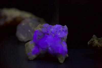 Fluoriserende mineraler (Foto/Photo)