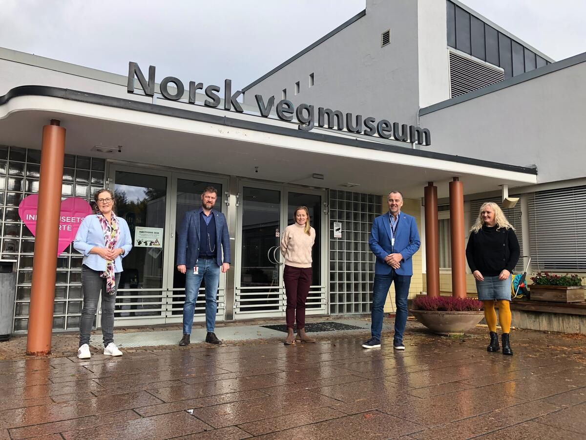 Overtar ansvaret for faste kulturminner. Foto: StianTranung/Norsk vegmuseum (Foto/Photo)