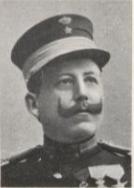 Norsk vernepliktig sekondløytnant som tok tjeneste i Fristaten Kongo og Belgisk Kongo i fire perioder fra 1896 til 1911
