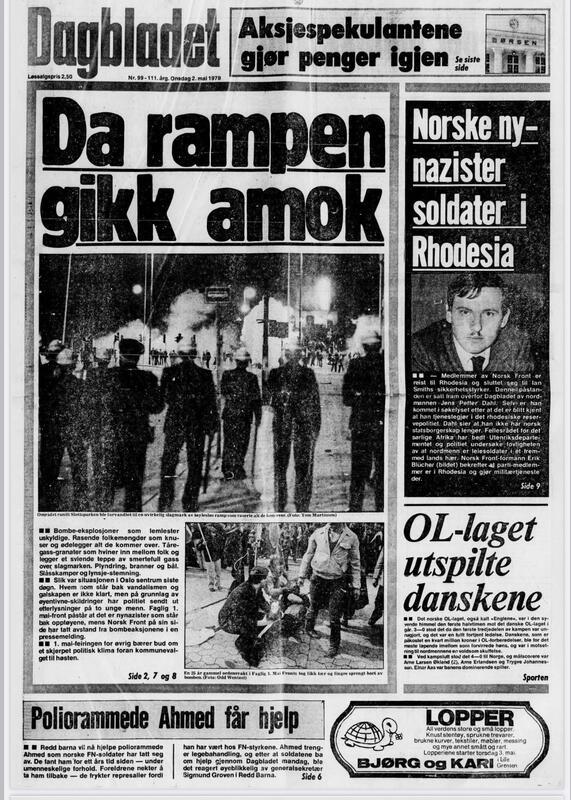 Dagbladet 1979 (Foto/Photo)