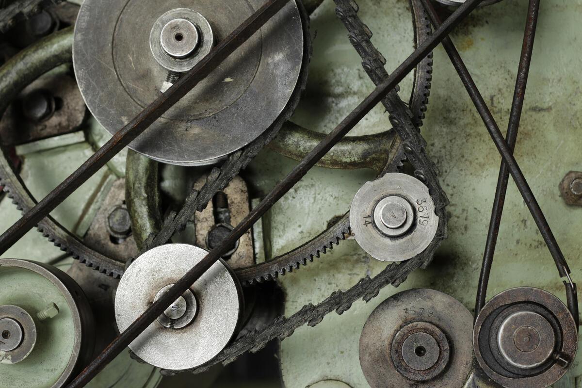 reimer og akslingar på kardemaskin (Foto/Photo)