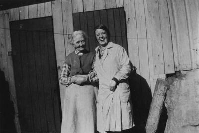 Augusta og datteren Rakel. (Foto/Photo)