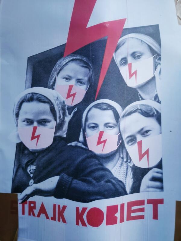Fra demonstrasjon i Oslo 28.10.20. Foto: Anna Sigríður Halldórsdóttir (Foto/Photo)