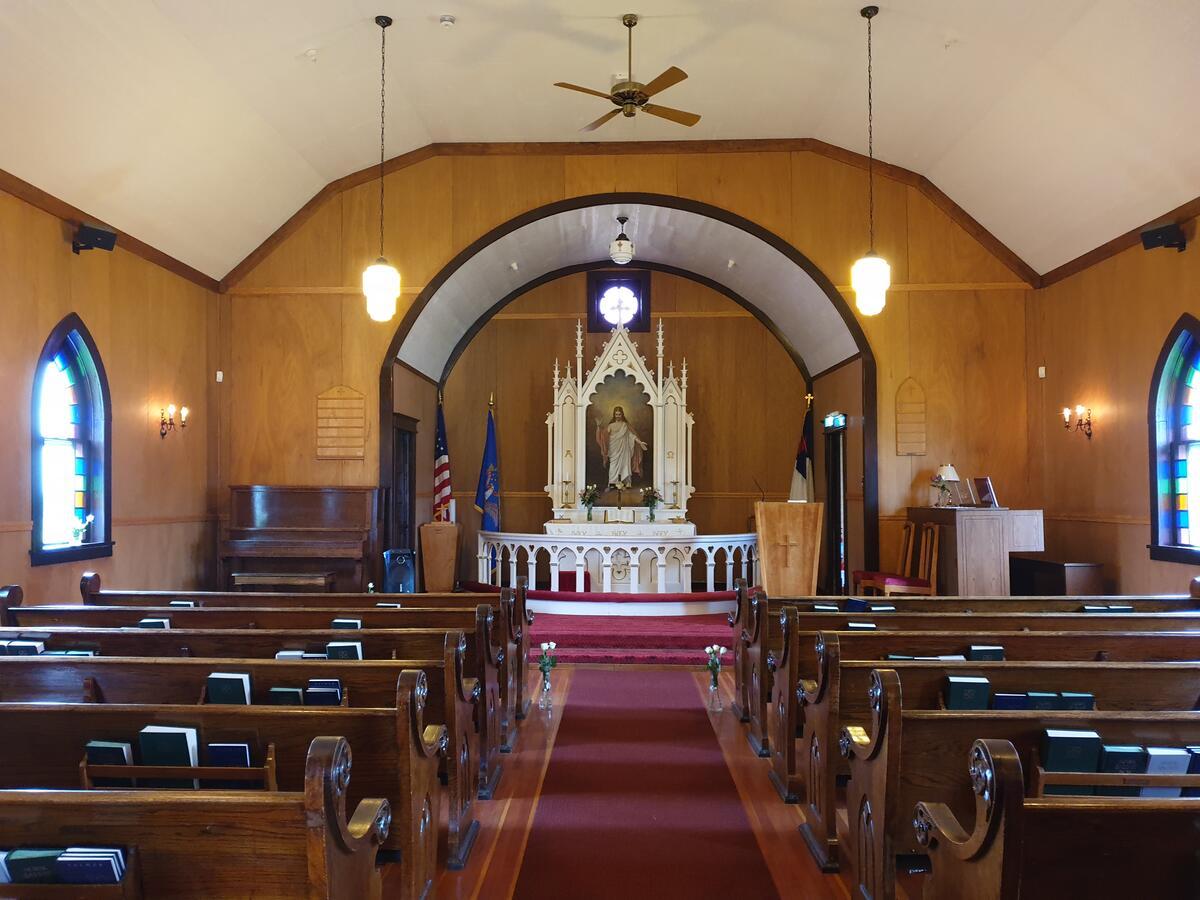 Kirkerom i kirken (Foto/Photo)