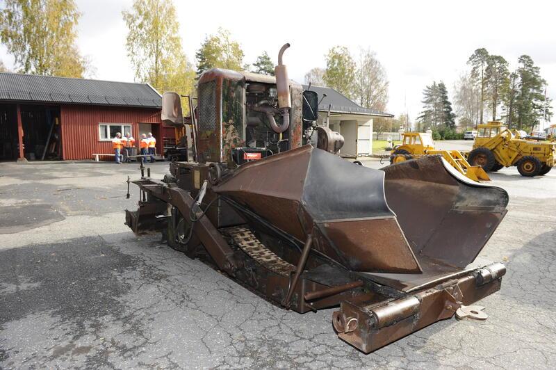 Fra Ørje vegstasjon. Foto: Ukjent/Norsk vegmuseum (Foto/Photo)