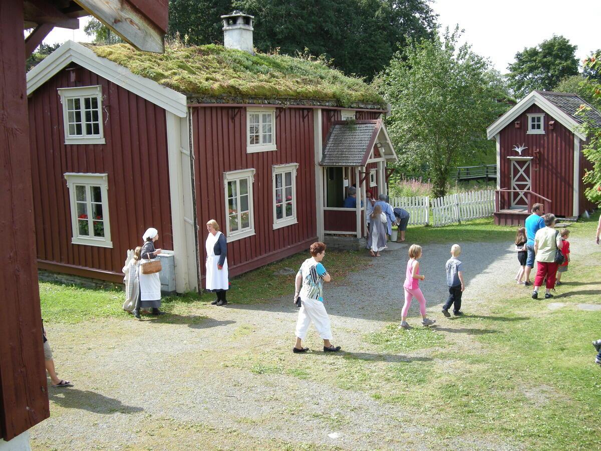 Vegvokterboligen. Foto: ukjent/Norsk vegmuseum (Foto/Photo)