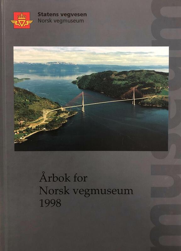 Forside: Årbok for Norsk vegmuseum 1998 (Foto/Photo)