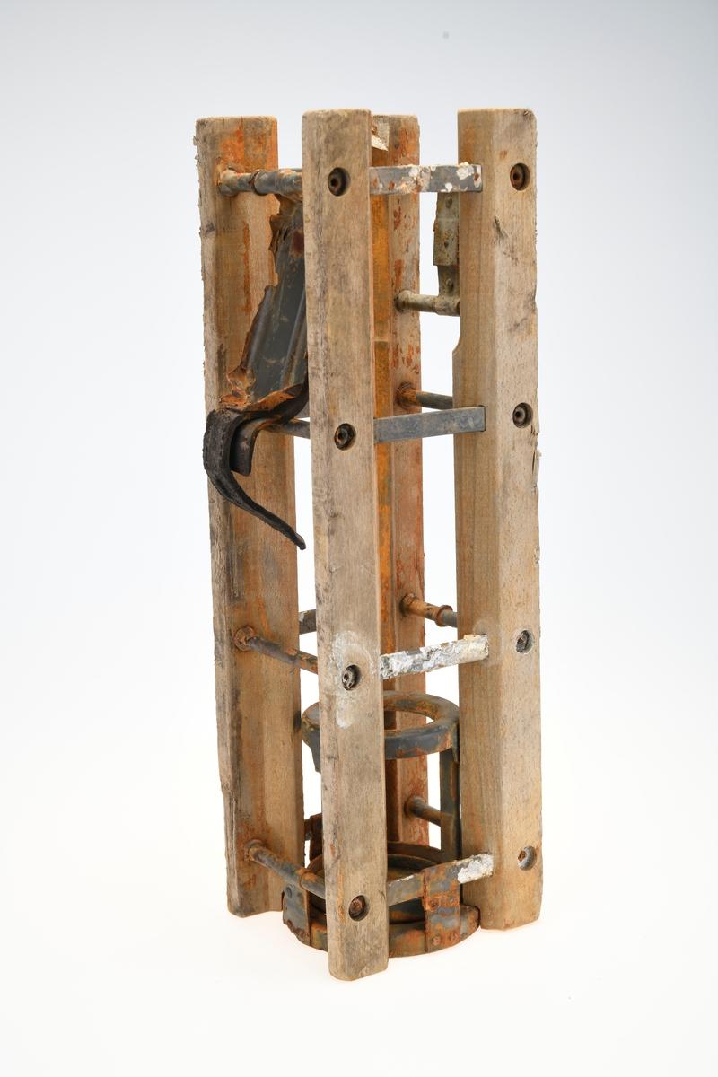 Transportkasse for granater/kanonhylser.