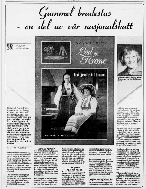 Morgenbladet 28. november 1991. (Foto/Photo)